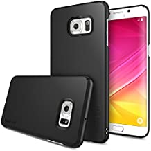 Galaxy S6 Edge Plus Funda, Ringke SLIM *** Cobertura Total en Los 4-Sides & Espalda *** [Black] Super Delgado Ligera todo momento la protección del estuche rígido para Samsung Galaxy S6 Edge+/S6 Edge Plus