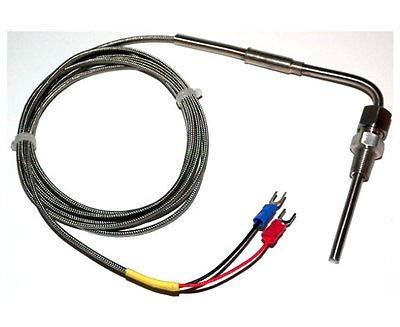 LaDicha Temp/érature De Sonde DAcier Inoxydable De Sonde De Thermocouple De K-Type