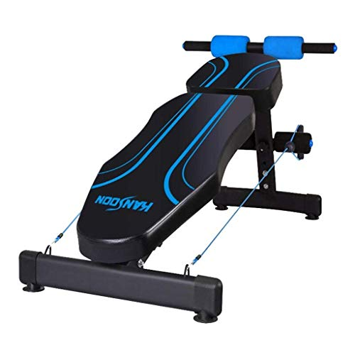 Sit-up board Gewichtheben-Bank - Übungs-Bank-Hantel-Bank-ergonomisches Entwurfs-Turnhallen-Qualität sitzen Oben Bank-Trainingsmaschinen für Hauptschwarzes und Blau