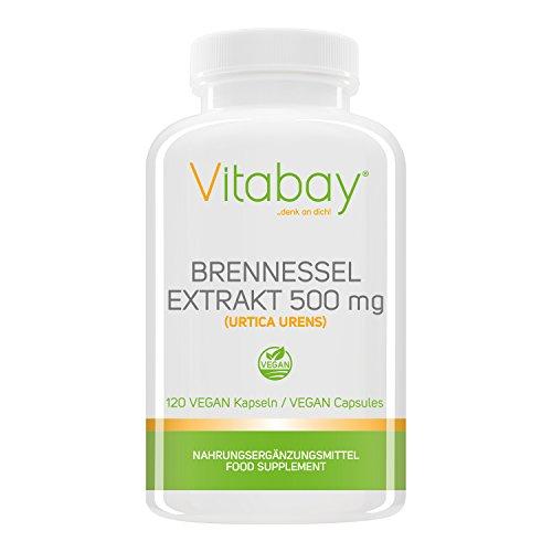 Brennessel - 500 mg - 120 Vegi Kapseln