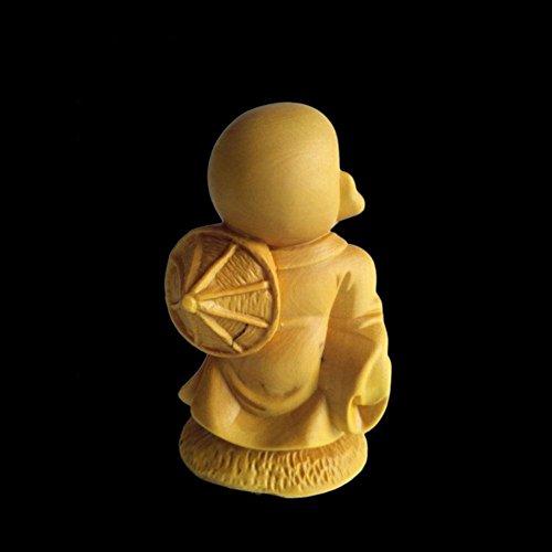 Buddha Craft Home Decor Wishing kleinen Sand in den Frieden Buchsbaum Holz Handwerk Möbel Ornamente