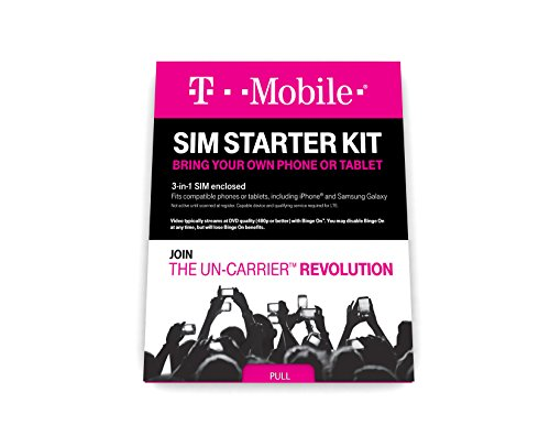 T-Mobile Complete SIM Starter Kit