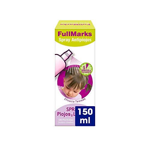 Full Marks Spray Antipiojos Niños Lendrera 150 ml