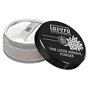 Lavera - 101422 - Maquillage Naturel - Trend Sensitiv - Fine Loose Minéral Powder - Transparent - Poudre Minérale Libre - 10 g
