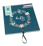 Busy B Familienkalender 2017, Blumenkranzdesign, mit Aufbewahrungsfach jeden Monat. Ein Steckfach jeden Monat für Briefe, Einladungen, Karten und wichtige Notizen Platz für bis zu fünf Terminpläne