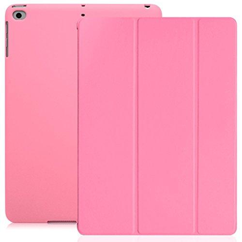 KHOMO iPad 9.7 Zoll Case Hülle 2018, 2017 Rosa Gehäuse mit Doppeltem Schutz Ultra Dunn und Super Leicht Smart Cover Schutzhülle Nur für 2018 und 2017 Versionen Apple iPad 9.7 - Pink