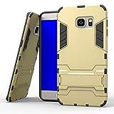 COOVY Étui pour Samsung Galaxy S6 Edge + Plus SM-G928F Coque Antichoc 2X Couche de...