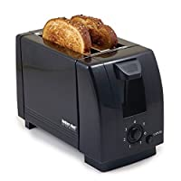 2 Slice Toaster Color: Black