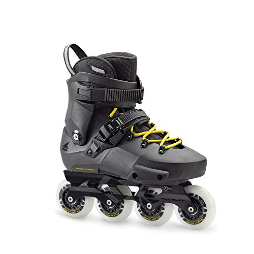 Rollerblade TWISTER EDGE Inline Skate 2018 black/yellow, 42.5 (Rollerblades Twister)