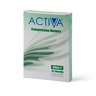 Activa Class 2 Below Knee Support Stockings open toe 18 - 24 mmHg Sand Extra Large