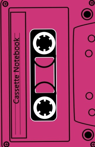 Cassette Notebook: Lined A5 Notebook - White Paper, A5 Size (5.5 x 8.5 inches), 100 pages (50 sheets)