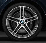 Original BMW Alufelge 3er E90 E91 E92 E93 M Doppelspeiche Glanzgedreht 313 in 19 Zoll für vorne