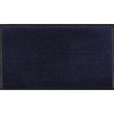 Wash+Dry - Tappeto  Navy 75x120, Blu