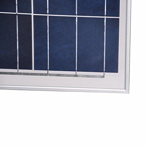 Giosolar Solarmodul Polykristallin 200W (2X100 Watt) Solarpanel – Solarmodul Solarzelle Photovoltaik, 100 W, 12 V PV-Modul Mit 90cm Kabel und MC4 Steckern-Camping - 3