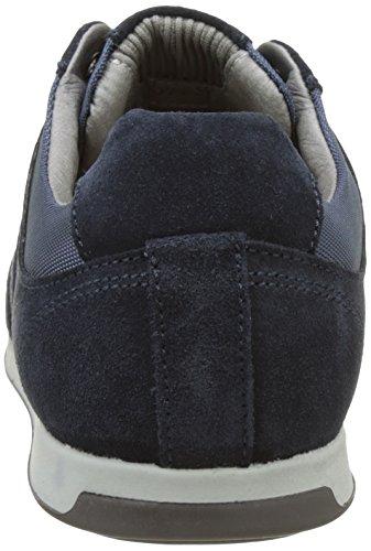 Geox U Clemet B, Sneakers Basses Homme Bleu (Lt Navy/Navycb4F4)