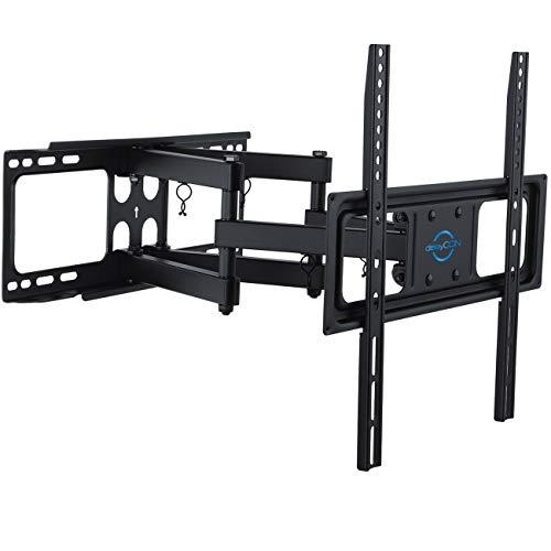 """deleyCON Universal TV Wandhalterung 32\""""-55\"""" Zoll (81-140cm) Neigbar & Schwenkbar - 40Kg - bis VESA 400x400 Plasma LCD LED OLED TFT Fernseher Halterung"""