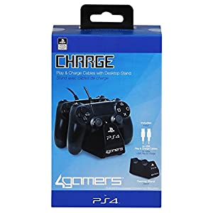 PS4 Twin Play 'n' Charge Cables – Schwarz [PlayStation 4 ]