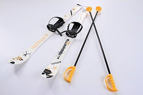 Kinderski Babyski Ski Lernski 90cm 5 Farben für Kinder (Weiß)