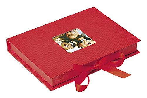 Walther Foto-Geschenkbox Fun rot, für Fotos bis Format 13X18 - Andenken-foto-box