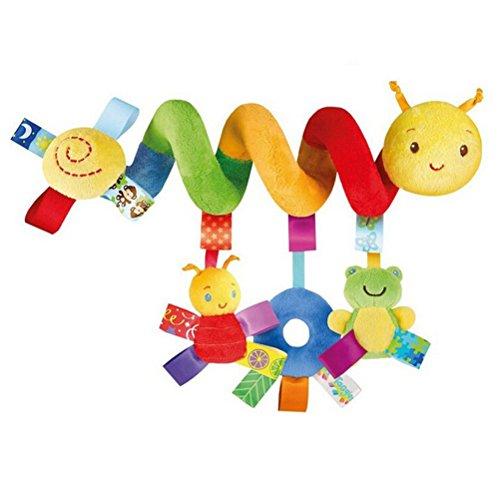Juguete Colgantes Espiral del Animales para Cochecito,Cama, Cuna a Bebe,GZQES,Juguetes para Bebés...