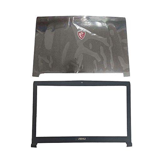 Laptop-Ersatzteile für MSI GE72 2QD Apache Pro MS-1792 MS-1795 MS-1799 schwarz LCD Top Cover Case+LCD Front Bezel Cover Case