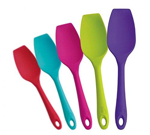 Zeal Silicone Spatula Spoon 26cm Various Colours (Aqua)