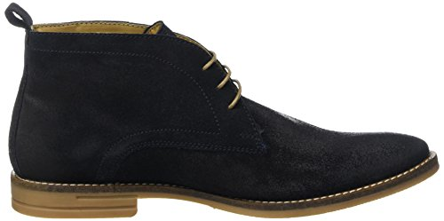 Base London Dore, Desert boots homme Bleu (Dirty Navy)