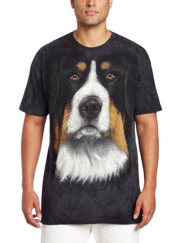 The Mountain Berner Mountain Dog T-Shirt für Erwachsene, Schwarz, Größe XXL