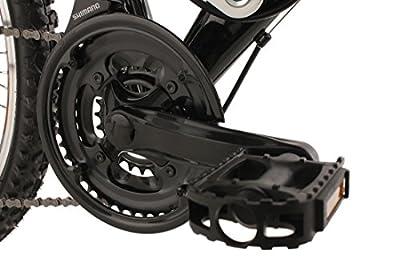 KS Cycling Fahrrad Kinder Mountainbike Atb 4 Masters RH 42 cm Schwarz, 24