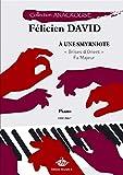 Félicien-César David-A une Smyrniote-Klavier-BOOK