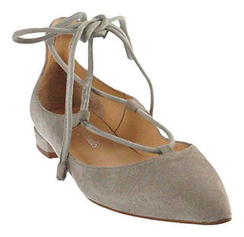PEDRO MIRALLES, Ballerine donna grigio Grau, grigio (Beige), 37 EU