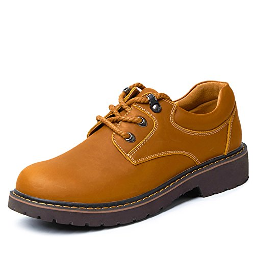 Miyoopark , Chaussures de ville à lacets pour homme Marron Clair