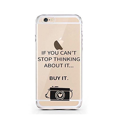 iPhone 6 6S cas par licaso® pour le modèle Let's Avocuddle Avocat Câlins TPU 6 Apple iPhone 6S silicone ultra-mince Protégez votre iPhone 6 est élégant et couverture voiture cadeau Can't Stop Thinking - Buy it