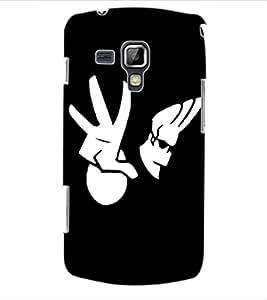 ColourCraft Cartoon Design Back Case Cover for SAMSUNG GALAXY S DUOS S7562