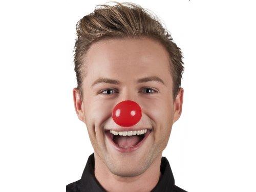 Boland Clown-Nase Kostüm-Zubehör klein rot Einheitsgröße