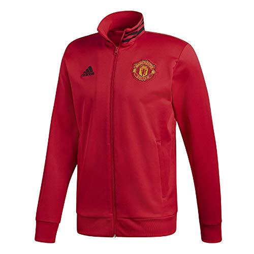 adidas Chaqueta Manchester United FC 3S 2018-2019 Real Red-Bblack Talla L