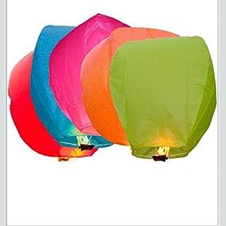 50PACK Sky Laterne, Heißluftballon, Christmas Eve, Halloween, Hochzeit und Wish Laterne mit Flammschutzmittel-100% biodgradable Chinesisches Papier Laternen
