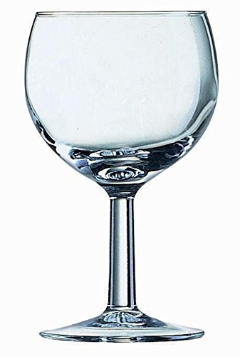 24 Weingläser Ballon geeicht 0,2 136 mm original Arcoroc