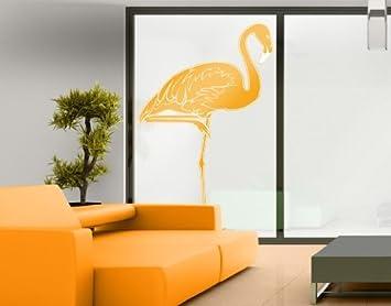 Window Sticker NoIS Flamingo Window Film Window Tattoo Glass - Window stickers amazon uk