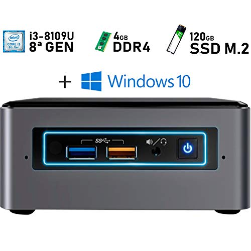 Intel NUC i3-8109U + 4GB DDR4 + 120GB M.2 + Windows