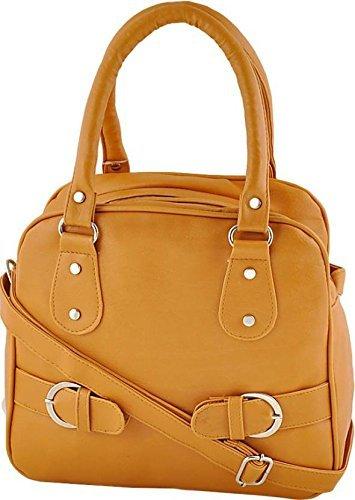 Taps Fashion Women'S Handbag(Mustard,Sln-6)  available at amazon for Rs.323