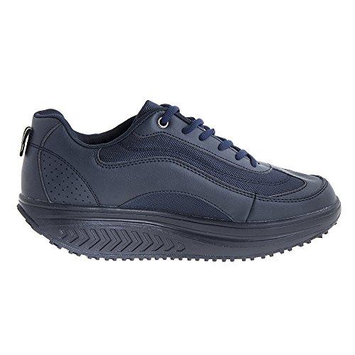MAPLEAF , Herren Walkingschuhe Blau