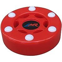 A & R Deportes en línea Street Hockey Puck, Color Rojo, tamaño Talla única