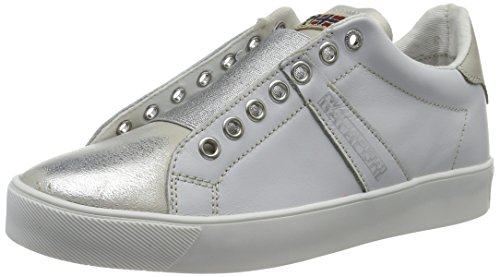 NAPAPIJRI - Minna, Scarpe da ginnastica Donna Weiß (white+silver)