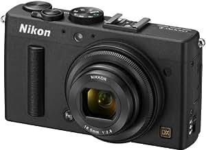 Nikon Coolpix A Digitalkamera (16 Megapixel, 7,6 cm (3 Zoll) LCD-Display, 28mm Weitwinkelobjektiv, Lichtstärke 1:2,8, Full HD Video) schwarz