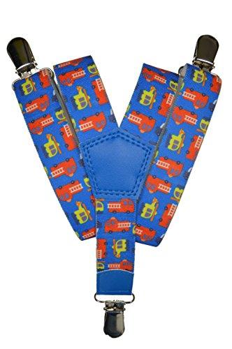 Olata bretelle elasticizzata per bambini 1-5 anni, y' clip design autopompa modello - blu chiaro
