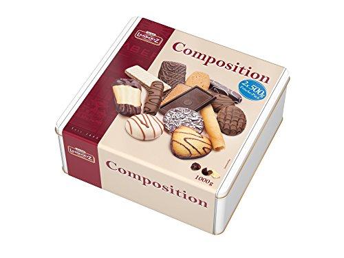 """Lambertz Gebäckmischung Dose """"Composition"""", 1er Pack (1 x 1 kg)"""