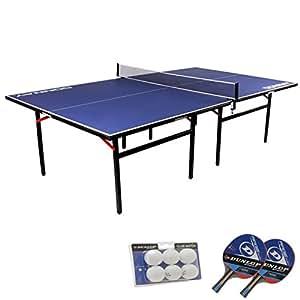 donnay table de ping pong d 39 int rieur tennis de table en salle pleine grandeur. Black Bedroom Furniture Sets. Home Design Ideas