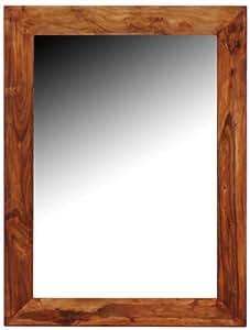 Signes grimalt 31516sg specchio da parete rettangolare con cornice di legno 120x90 cm amazon - Specchi da parete amazon ...