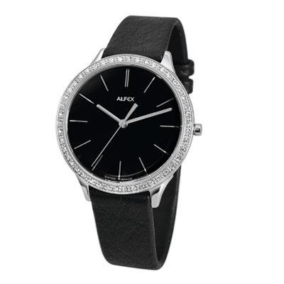 Alfex 5644.777 5644777 – Women's Wrist Watch, Leather Strap